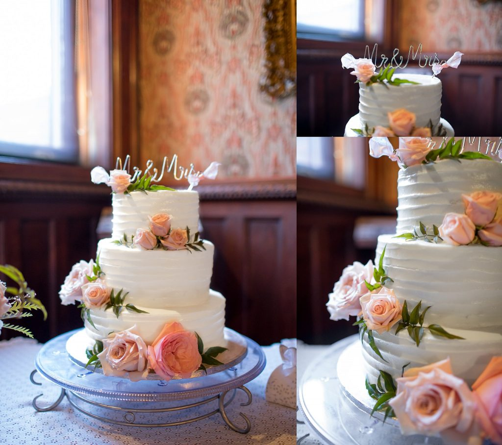 Wedding at Barker Mansion | Uptown Cakery | Michigan City Indiana Photographer | Toni Jay Photography
