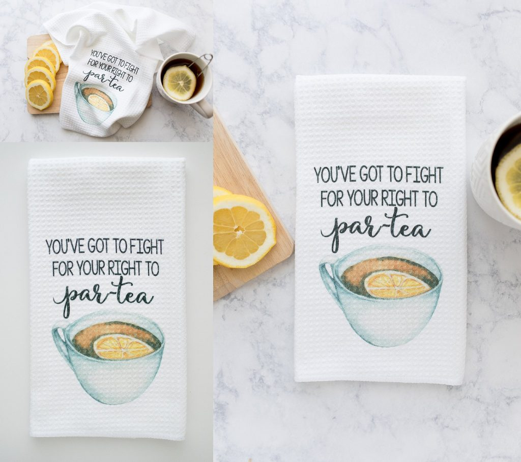 Do Take It Personally Etsy Store | Custom Coffee Mugs + Funny Kitchen Towels | Toni Jay Photography