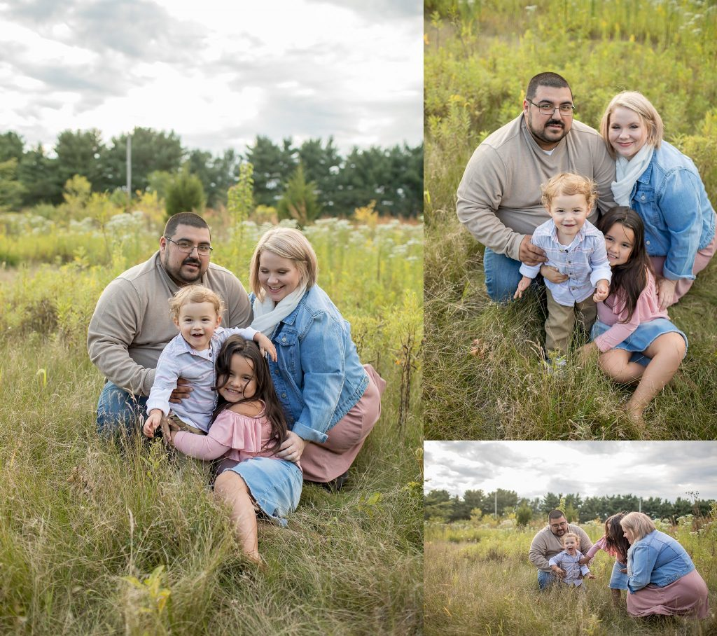 South Bend Family Photographer | Thrasher Family | St. Patrick's County Park | Toni Jay Photography