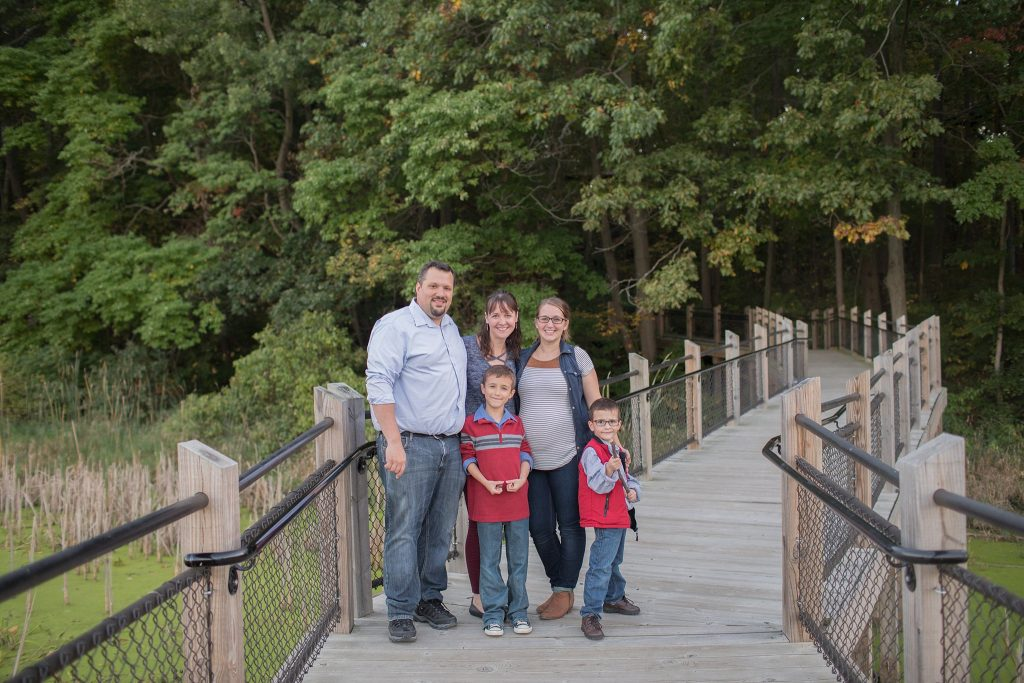 Mandeville Family | Galien River County Park | New Buffalo, MI | New Buffalo Family Photographer | Toni Jay Photography