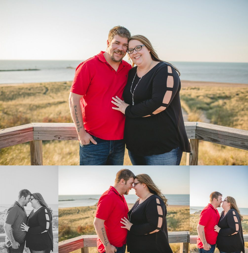 Engaged Couple | New Buffalo Michigan Engagement Photographer | Toni Jay Photography