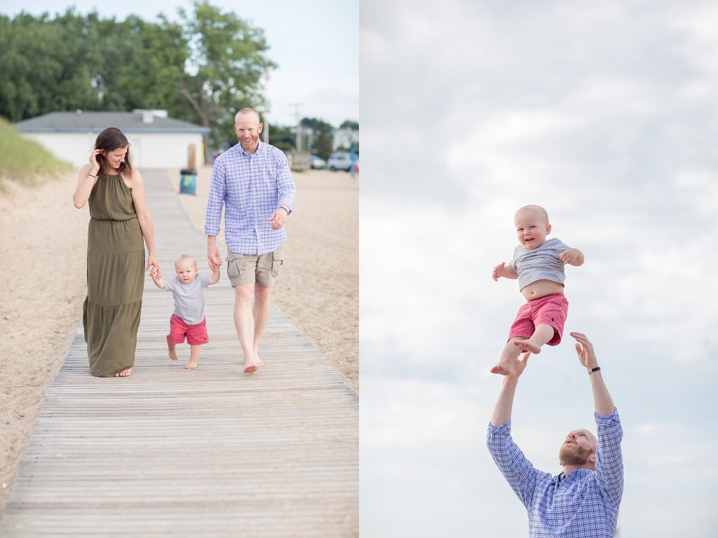 Jessie + Trent | New Buffalo Family Photographer | Toni Jay Photography