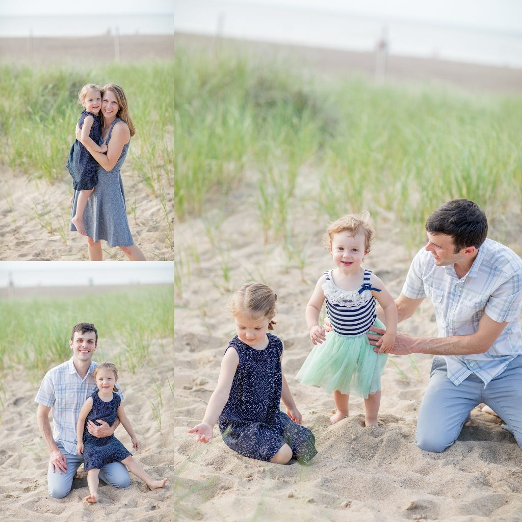 Kristen + Phil | Family Session | New Buffalo Family Photographer | Toni Jay Photography