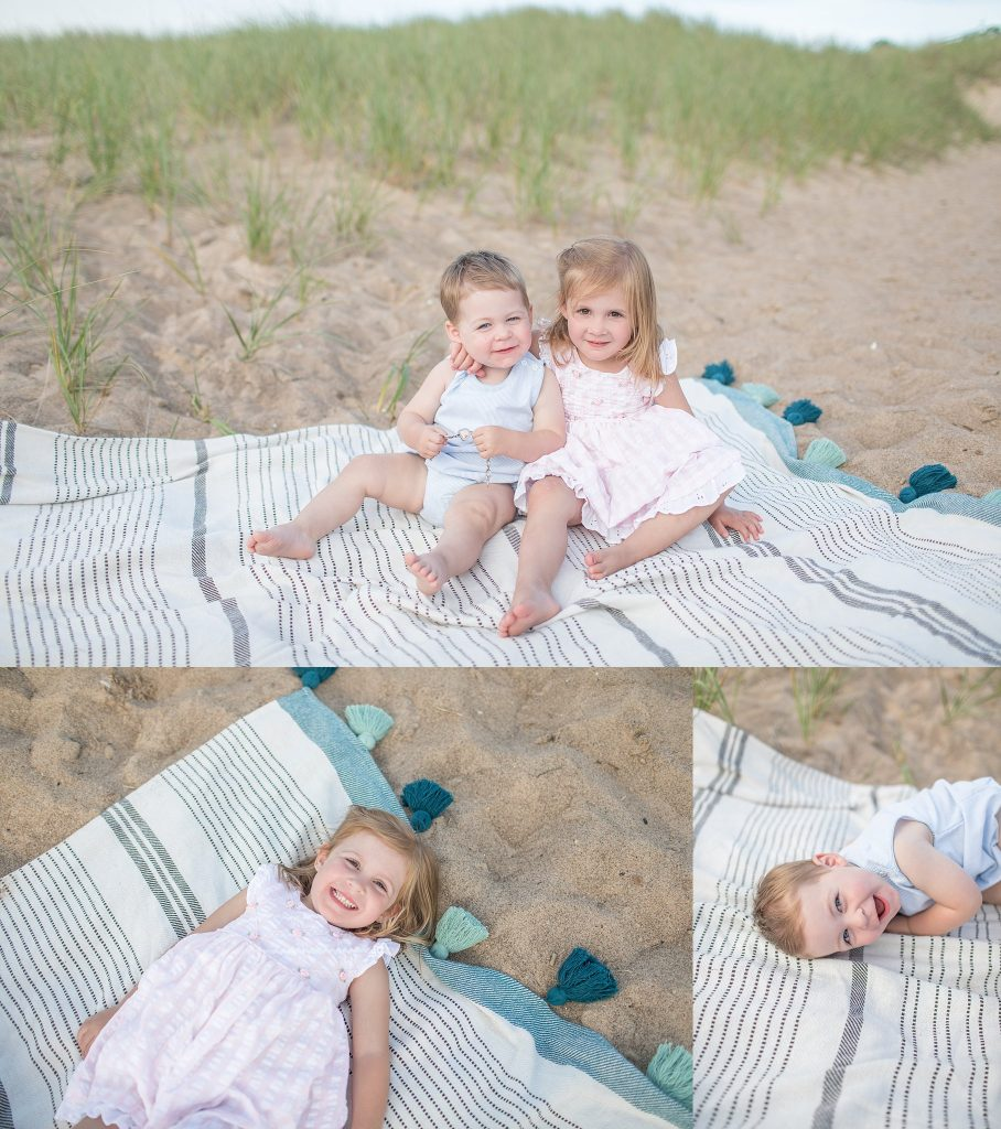 Martha + Sean | Family Session | New Buffalo Family Photographer | Toni Jay Photography