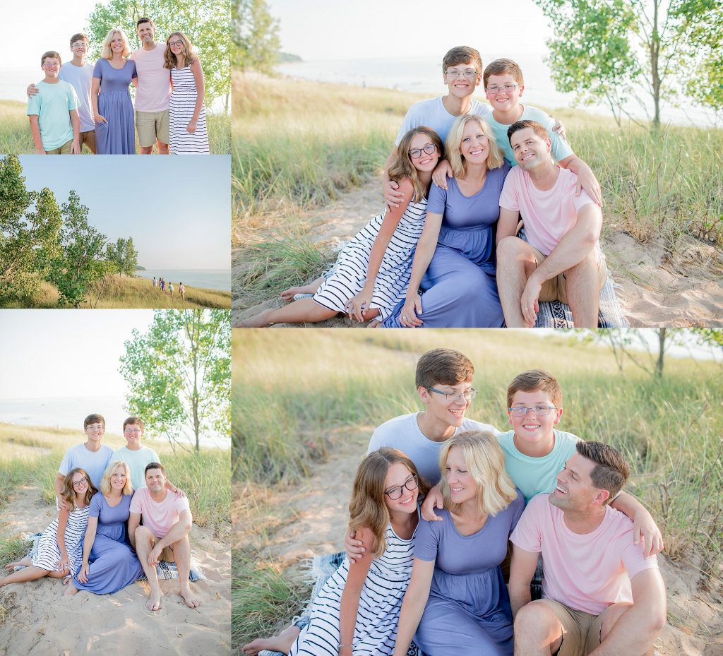 Mandeville Family | Extended Family Session | Saugatuck Michigan | Saugatuck Michigan Extended Family Photographer | Toni Jay Photography