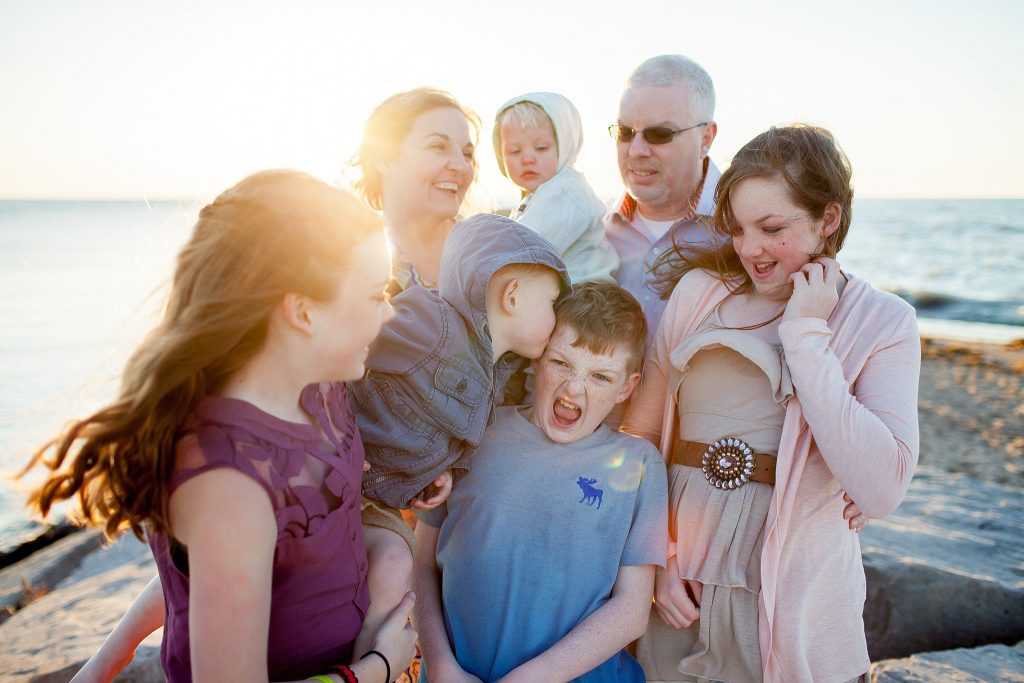 Donaghe Family | New Buffalo Michigan Family Photographery | Toni Jay Photography