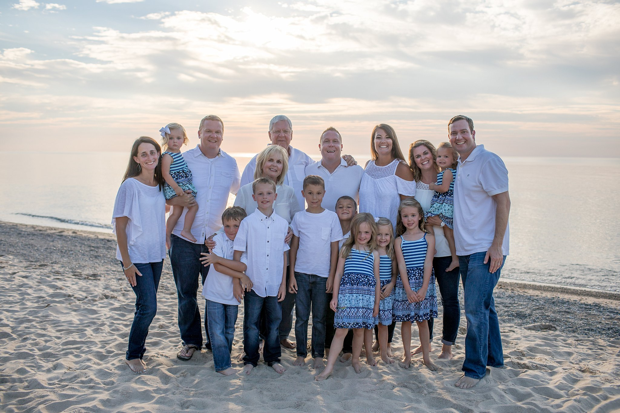 Silversten Family | Private Beach | New Buffalo, MI