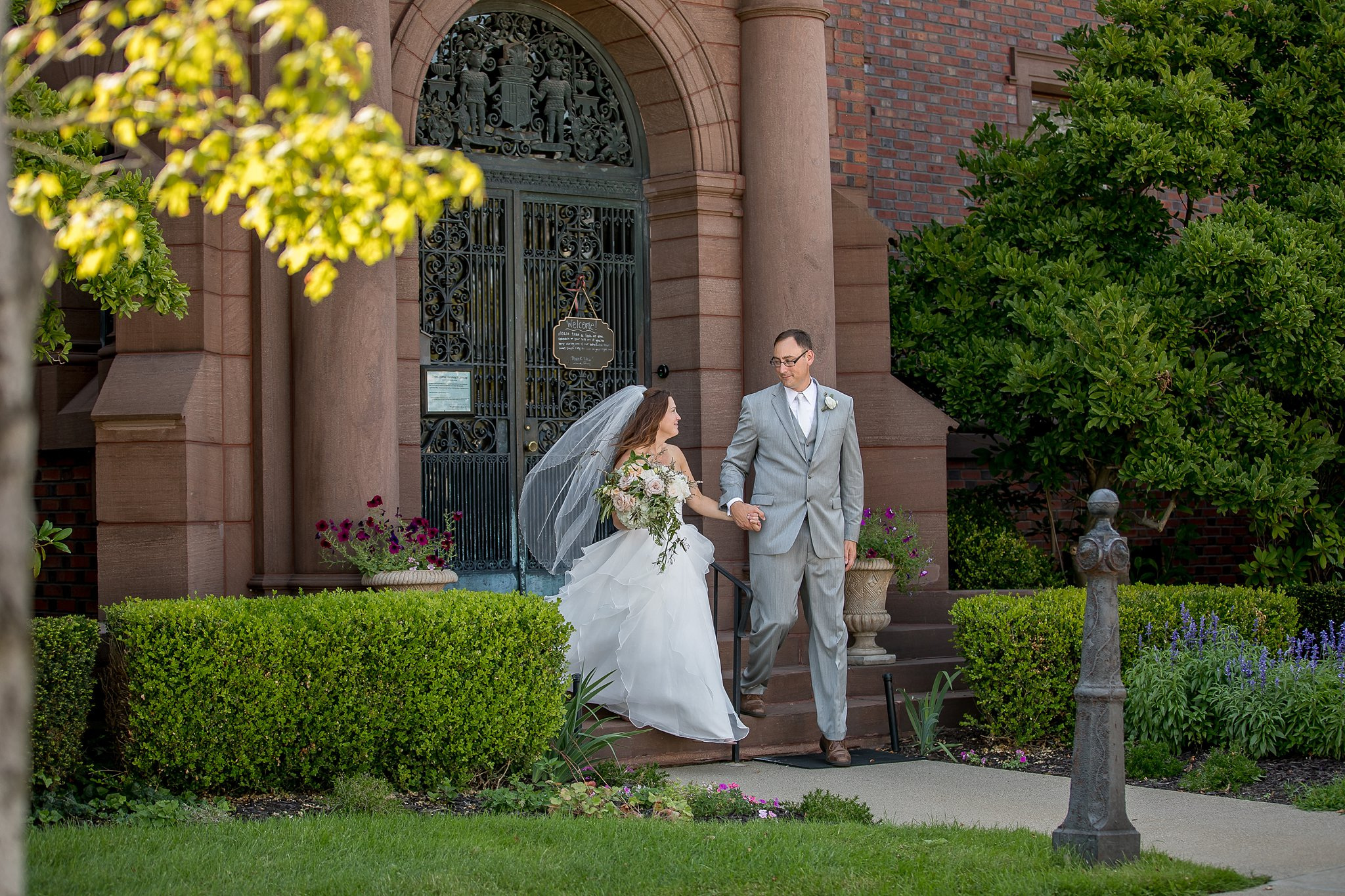 Deemer Wedding | Barker Mansion | Destination Wedding | Michigan City, IN