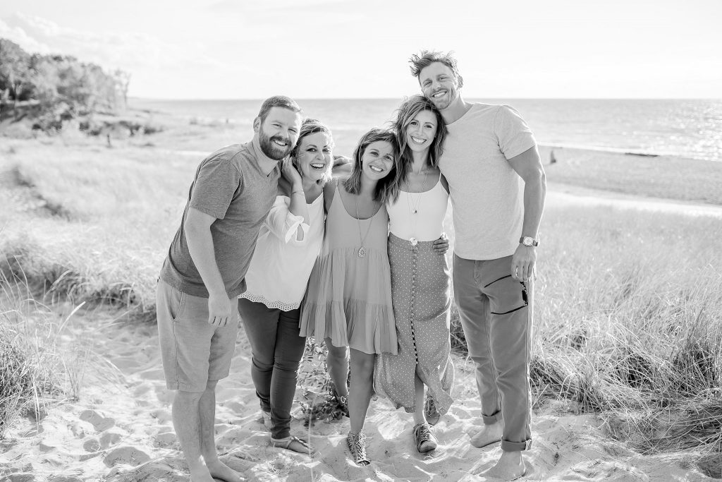 O'Brien Family | Warren Dunes | Sawyer Michigan Family Photographer | Toni Jay Photography