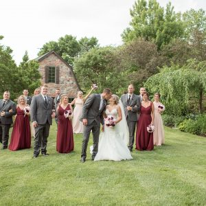 Darian + Spencer | Wedding | Wheatfield, IN | Toni Jay Photography