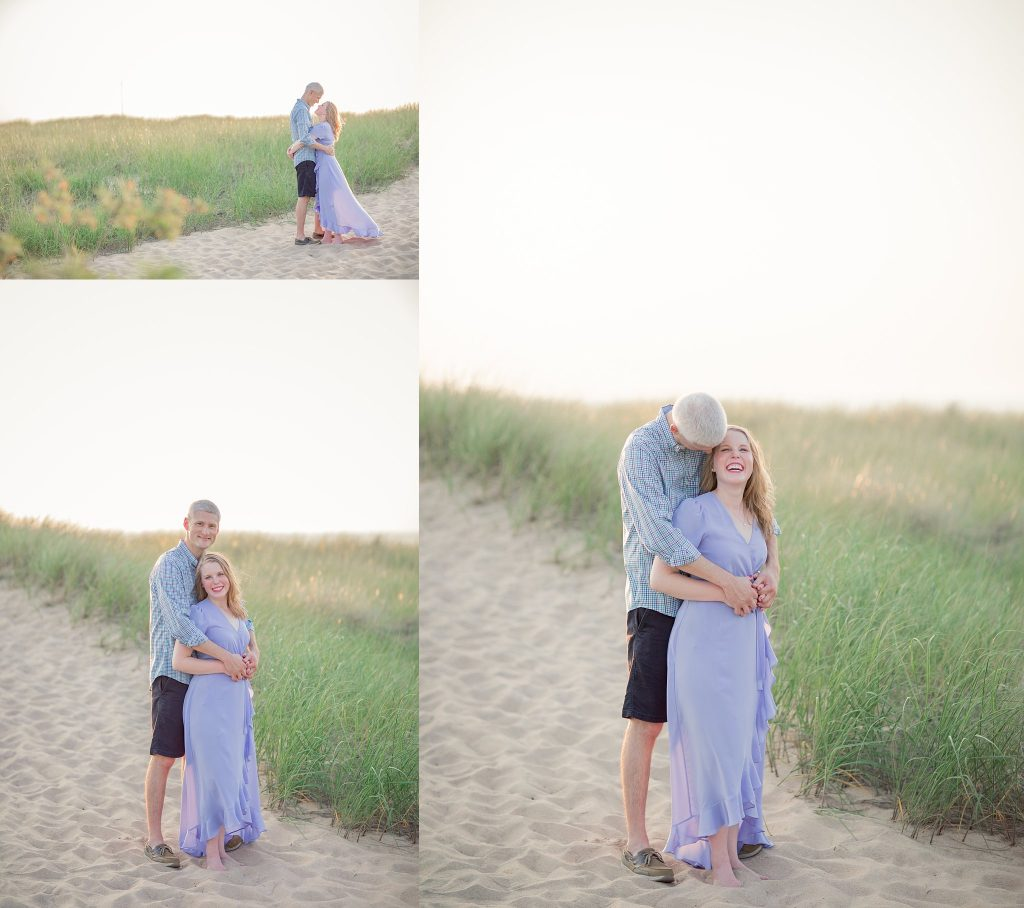 Megan + Phil | Engagement | New Buffalo Michigan Engagement Photographer | Toni Jay Photography