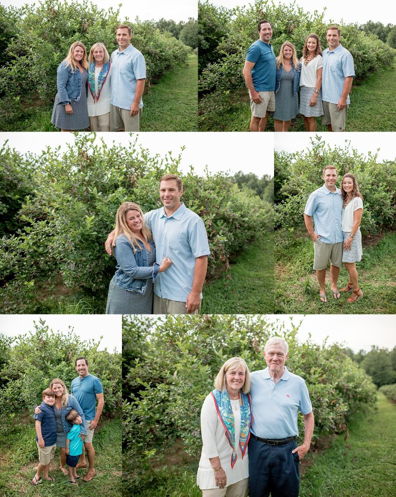 Brunst Family | Extended Family Session | Blueberry Dune Farm | New Buffalo Michigan | New Buffalo Extended Family Photographer | Toni Jay Photography
