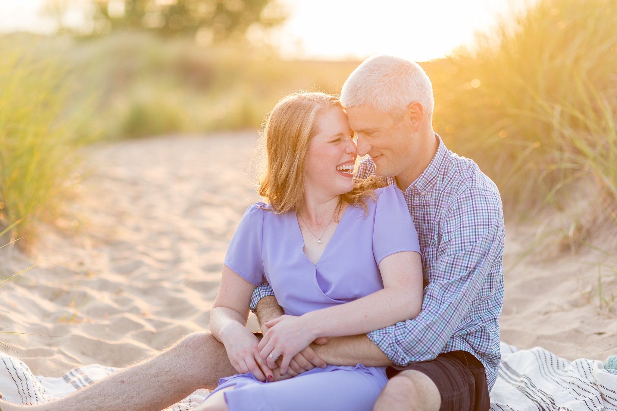Megan + Phil | Engagement | New Buffalo, MI | Toni Jay Photography