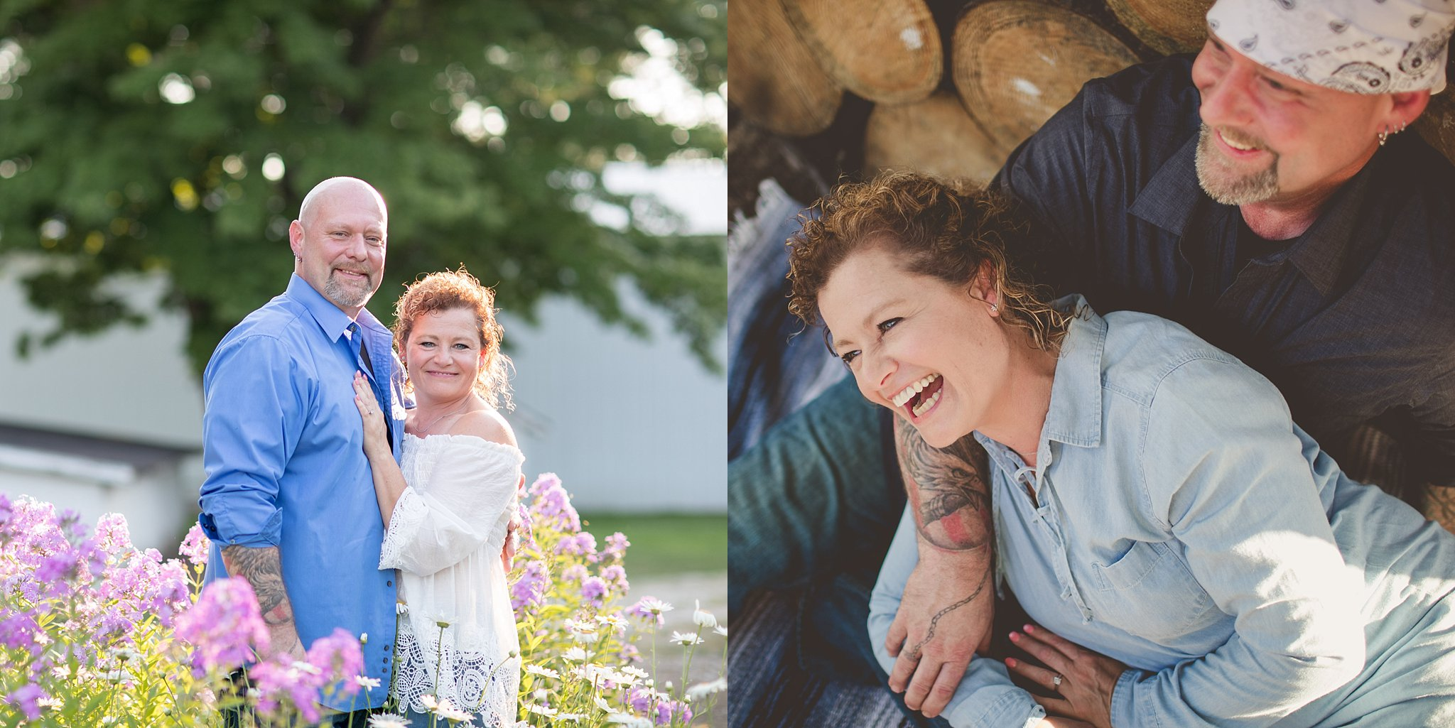 Benée + Mark | Engagement Session | La Porte, IN | Toni Jay Photography