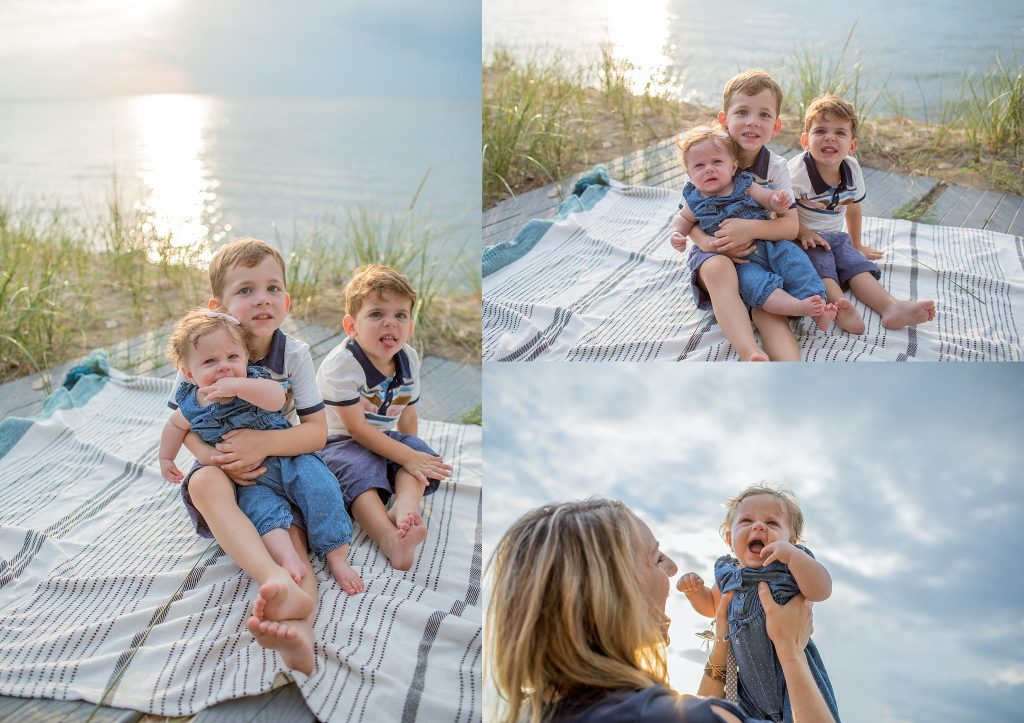 Halleck Family | Reunion Session | New Buffalo, MI | Toni Jay Photography
