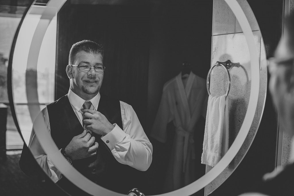 Michelle + Luke | Wedding at Blue Chip Casino | Michigan City, IN | Toni Jay Photography