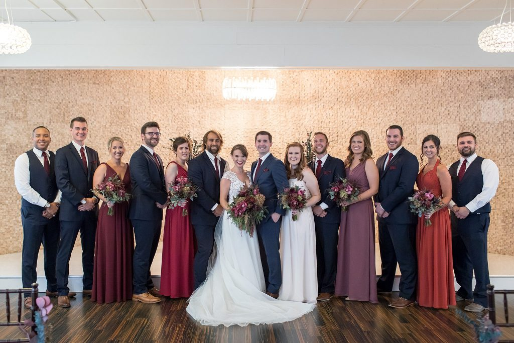 Alley + Eric Paral | Wedding | The Allure | La Porte, IN | Toni Jay Photography